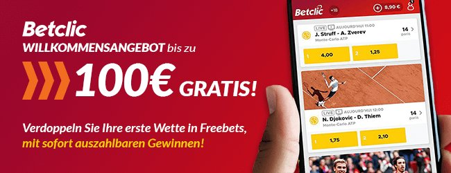 Betclic app bonus